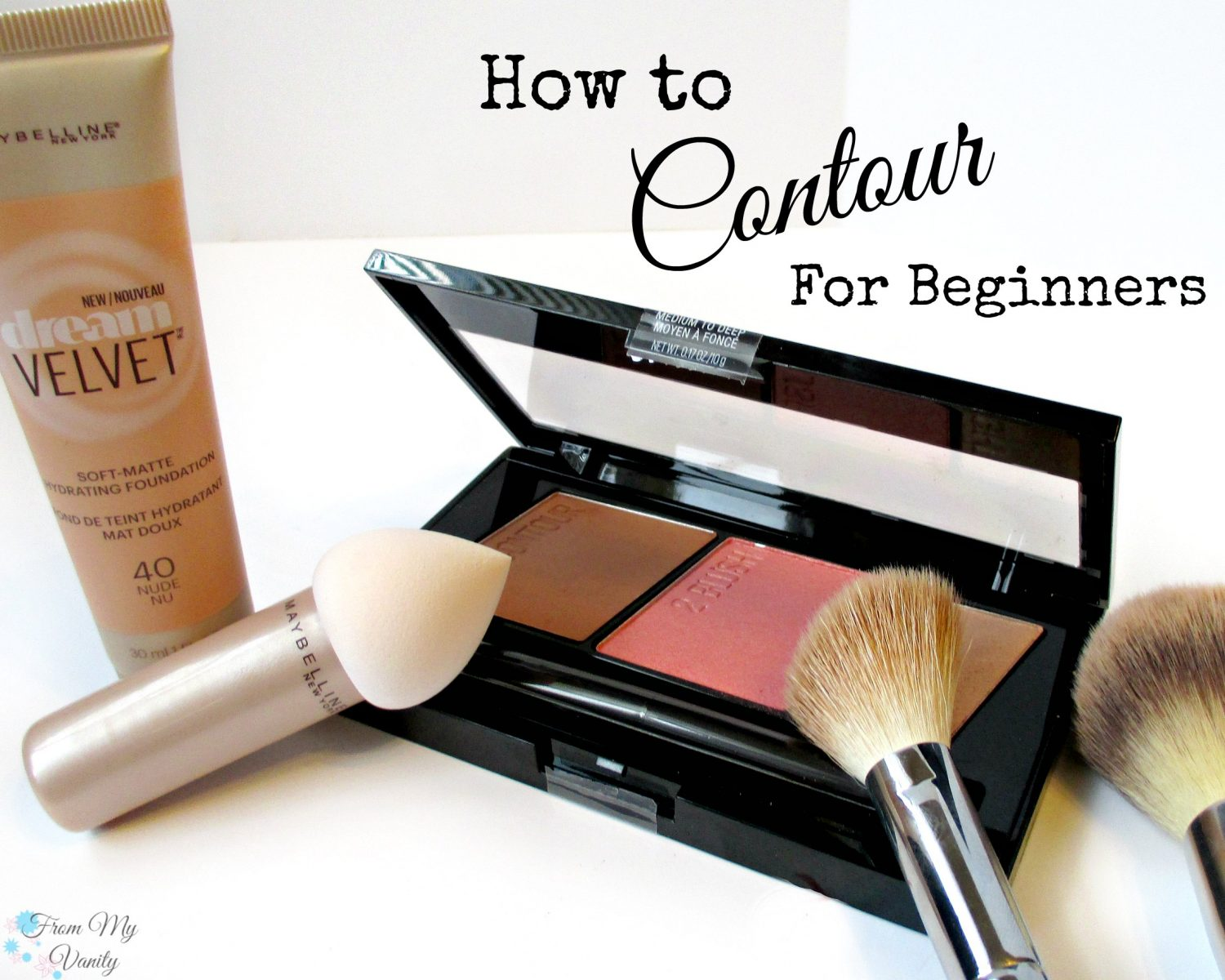 How to Contour for Beginners // Step-by-Step Tutorial // FromMyVanity.com