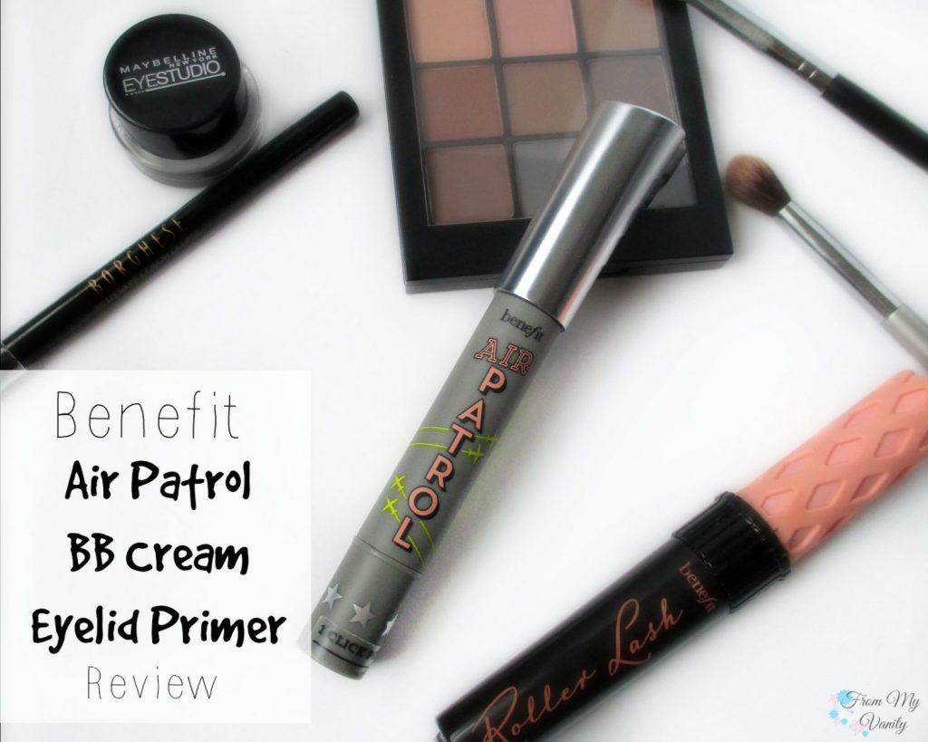 Benefit Air Patrol BB Cream Eyelid Primer // Review // FromMyVanity.com