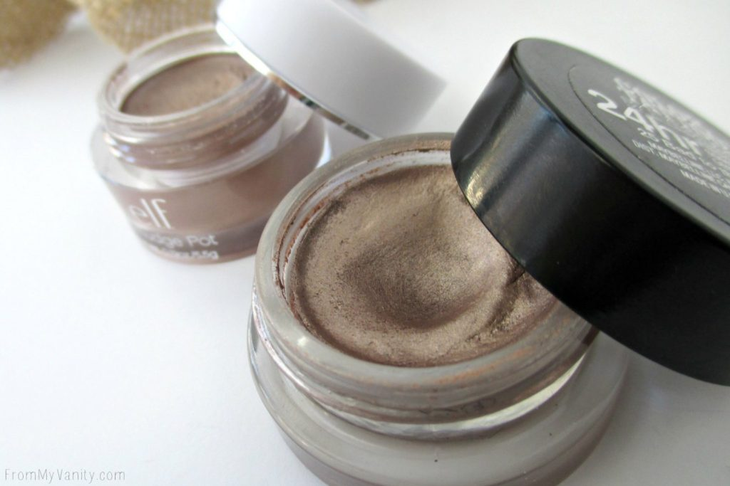 Dupe or Dud // Maybelline Color Tattoo vs ELF Smudge Pot // Bad to the Bronze // Cruisin Chic // Opened // FromMyVanity.com