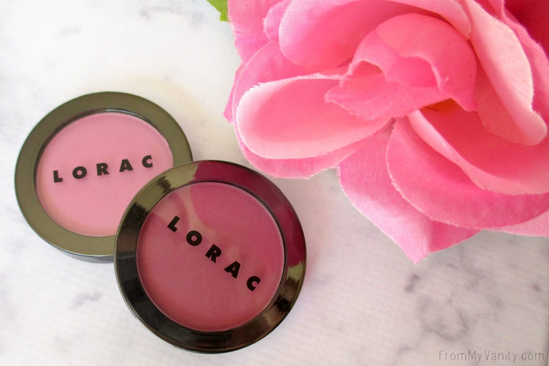 Lorac Color Source Buildable Blushes // Displayed // FromMyVanity.com @LadyKaty92