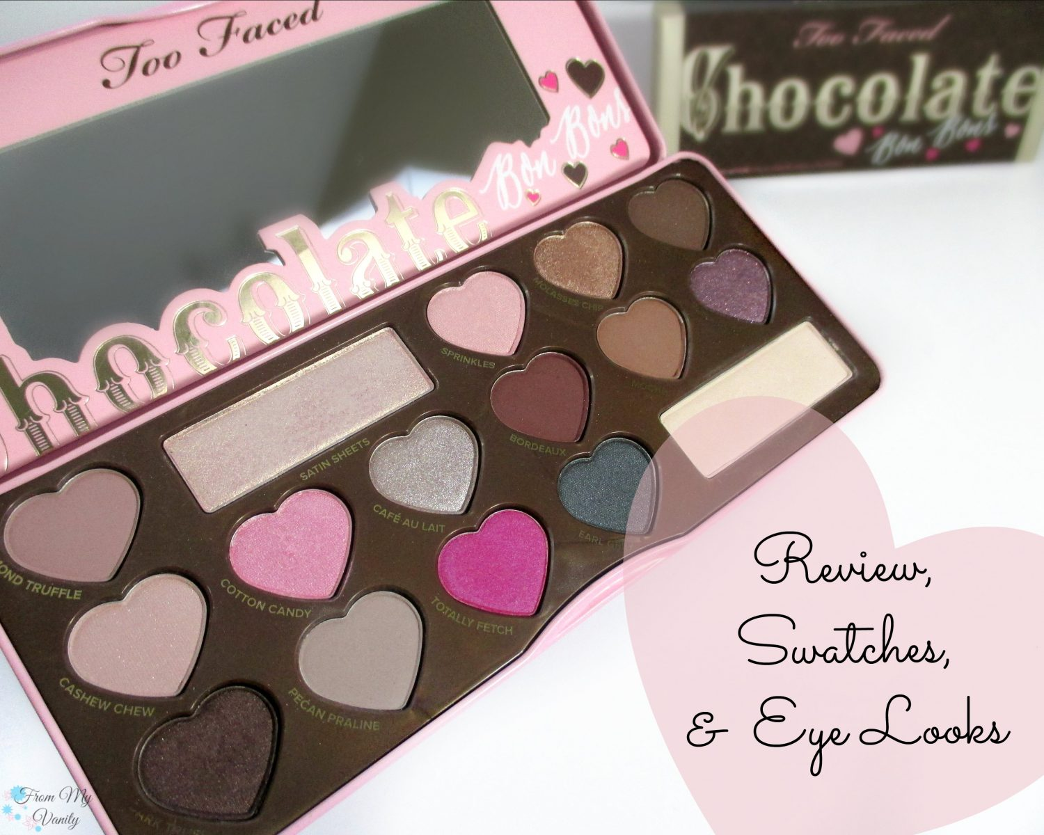 Too Faced Chocolate Bon Bons Palette - Review, Swatches, and Eye ...