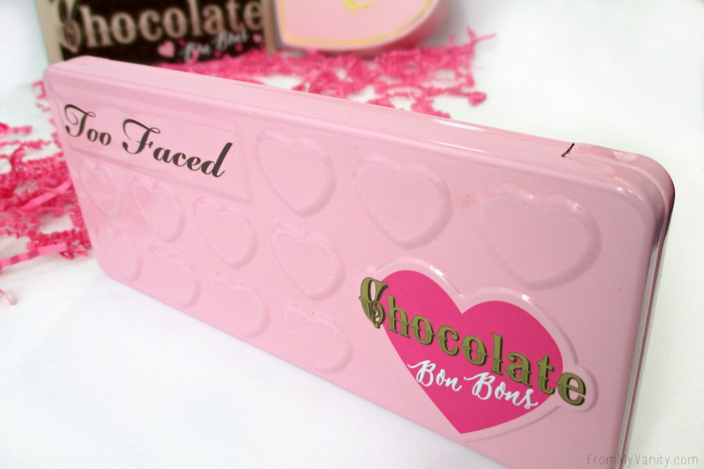 Too Faced Chocolate Bon Bons Palette // Review, Swatches, & Eye Looks // Closed Palette // FromMyVanity.com