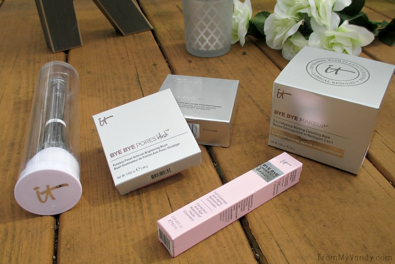Why do companies have to make the boxes so pretty?! It makes them so hard to toss out after!   IT Cosmetics QVC TSV, IT's Your Bye Bye Collection