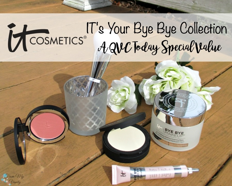 Exciting! IT Cosmetics featured their newest products in their IT's Your Bye Bye Collection on QVC as a Today's Special Value deal on March 29th!