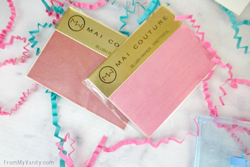 Beauty Box 5 -- Mai Couture Blush Paper