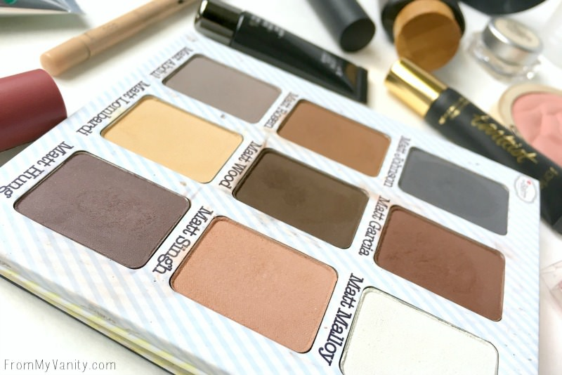 theBalm Meet Matte Nude Palette used for a Prom makeup tutorial