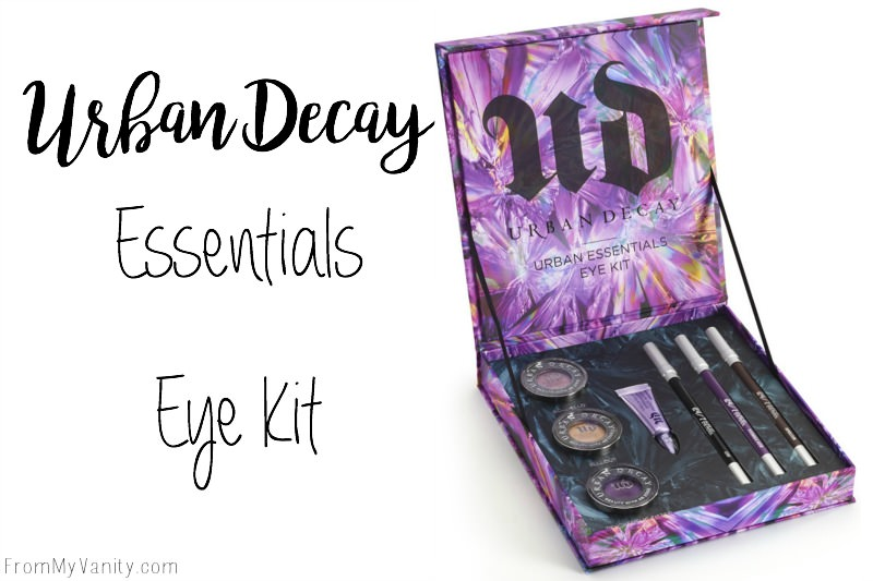 This Urban Decay Essential Eye Kit is perfect to try out their products at a discount!