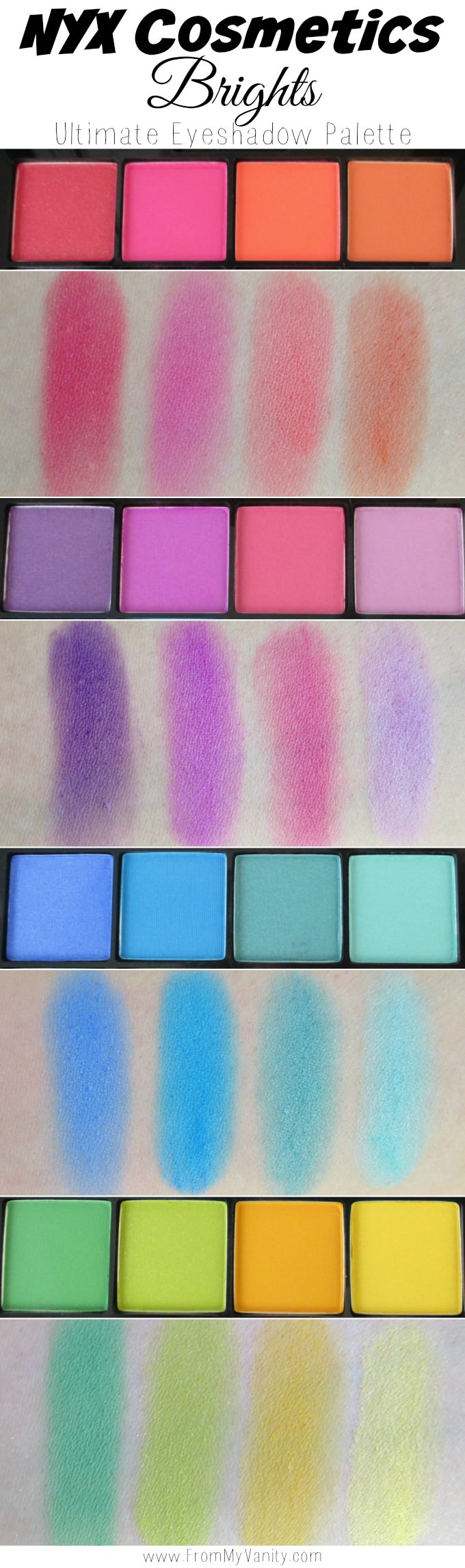 nyx cosmetics ultimate shadow palettes review swatches. Black Bedroom Furniture Sets. Home Design Ideas