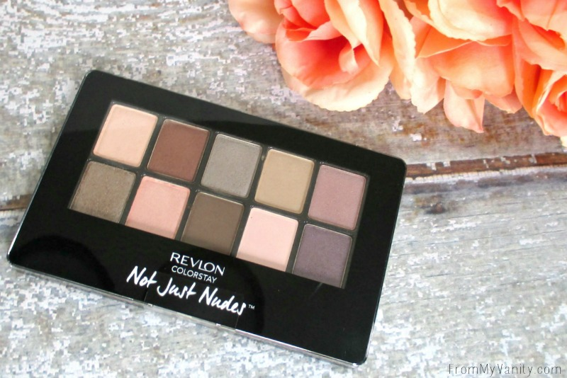 Revlons NEW ColorStay Not Just Nudes palette -- so pretty!