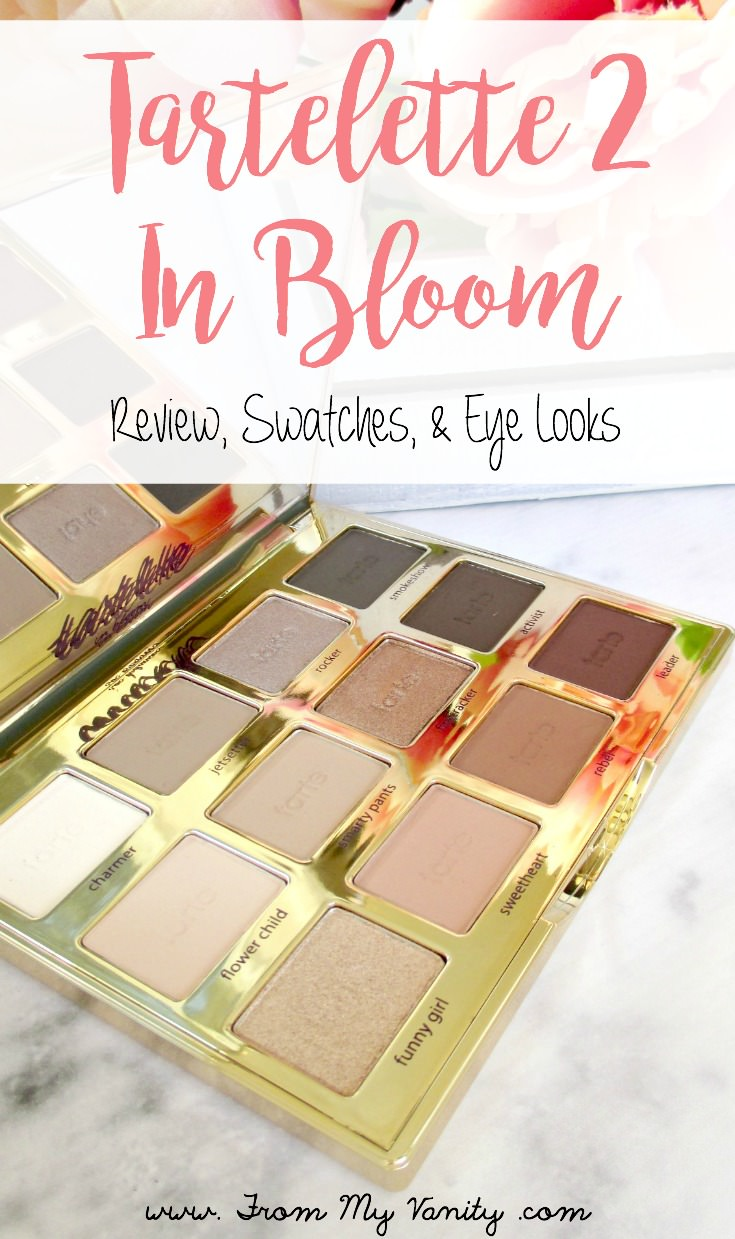 Tarte's new Tartelette In Bloom palette got a lot of hype when it was first released...but was it worth all the hype? This review will tell you!