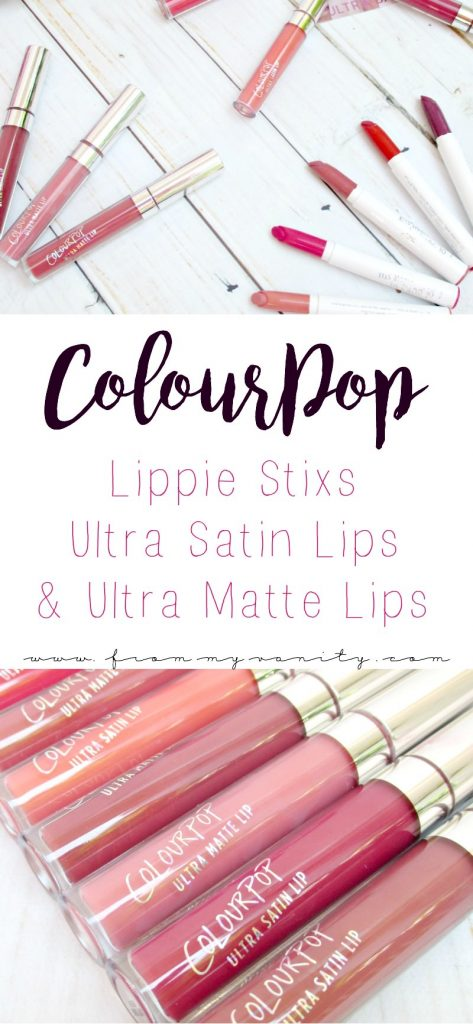 These ColourPop lip products all look SO pretty! Can't beat affordable and beautiful lipsticks!