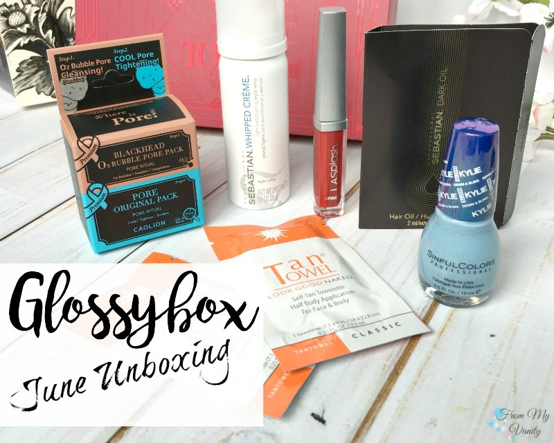 Glossybox's June Box is going the Tony Awards route!