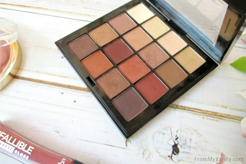 You NEED this palette! NYX Cosmetics hit it on the nail with this one!