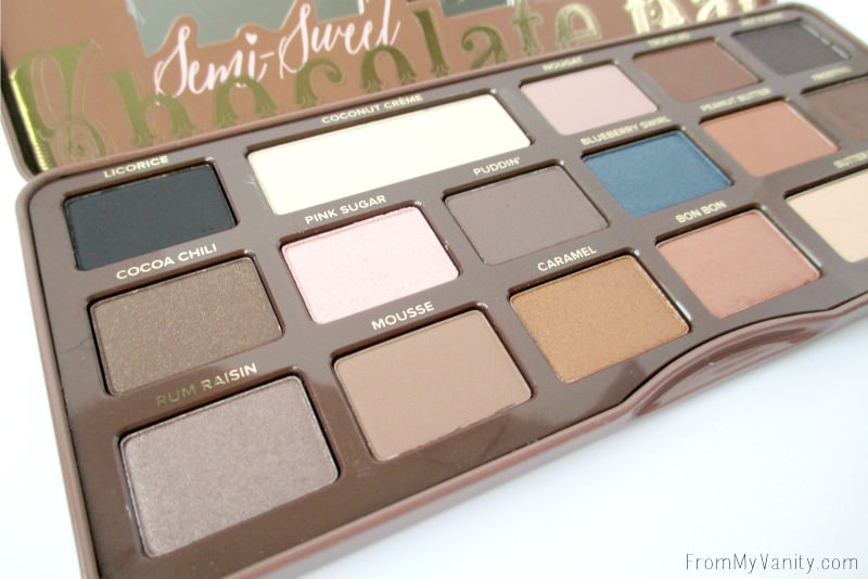 Too Faced Semi Sweet Chocolate Bar Palette Review
