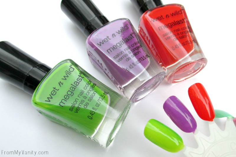New Shades in the Wet n Wild MegaLast Nail Polish!