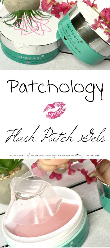 Need to give Patchology FlashPatch Eye and Lip Gels a try -- the results are pretty neat!