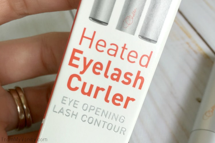 Get the Heated Eyelash Curler from Chella!