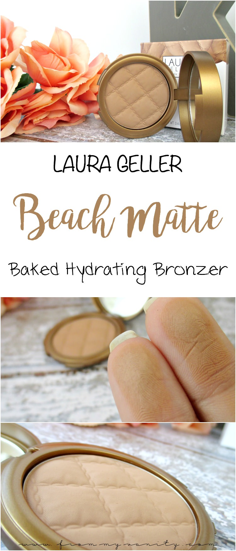 Laura geller beach matte hydrating baked bronzer review for Perfect bake pro review
