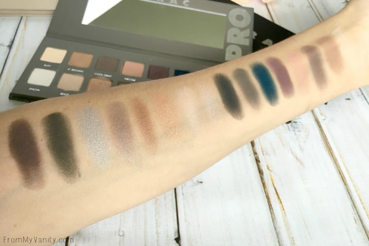 lorac-pro-comparisons-pro2-swatches
