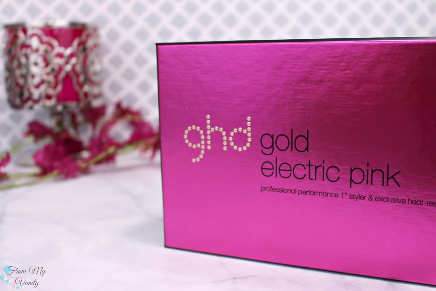 ghd Gold Electric Pink Flat Iron