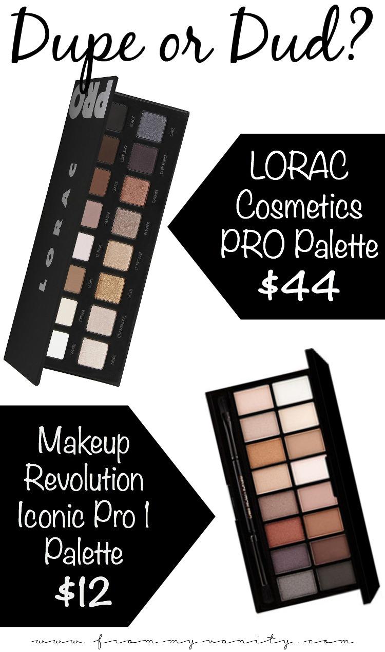 Lorac Pro To Go Professional Eye Collection Review: LORAC PRO Palette Vs Makeup Revolution