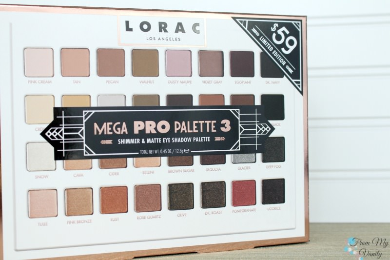 The LORAC Mega PRO 3 is HERE!