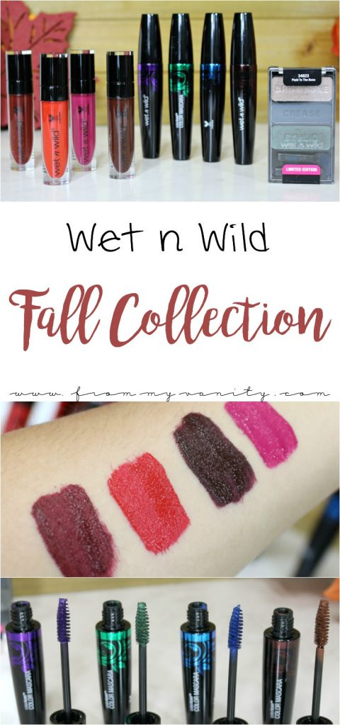 The Wet n Wild Fall Collection is so stunning - and they have matte liquid lipsticks now!