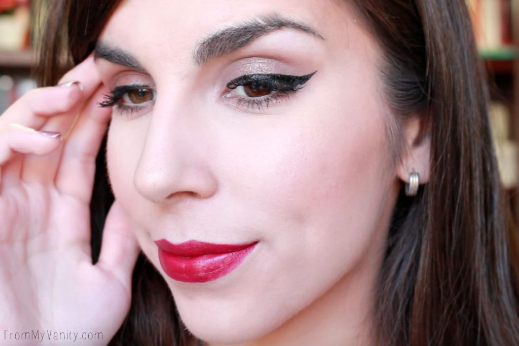 Holiday Makeup Look Created Using the Glo Minerals Bold Pursuit Collection