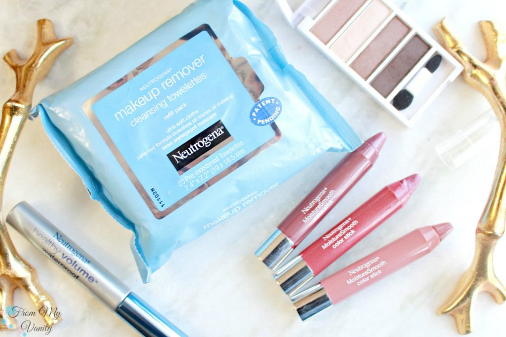 Sooth dry lips with any Neutrogena® MoistureSmooth Color Sticks
