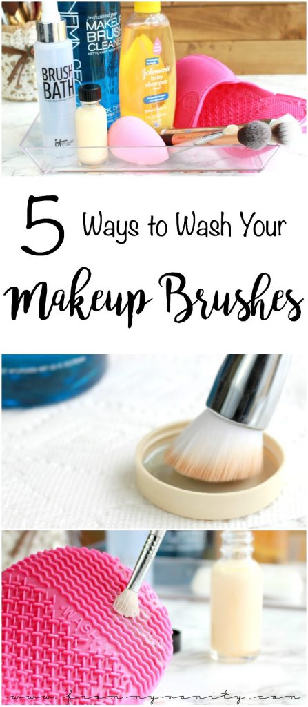 5 Ways to Wash Your Makeup Brushes | Tips & Tricks | Highend, Drugstore, and DIY