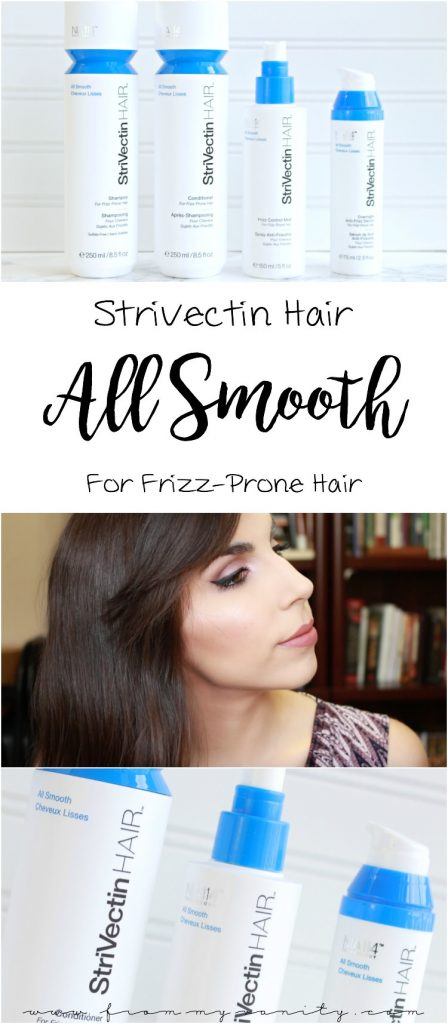 Strivectin Hair All Smooth for Frizz-Prone Hair | Review + Results | Smooth Hair | Frizz Free
