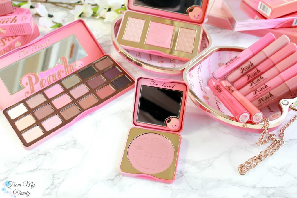 Too Faced Sweet Peach Collection | Papa Don't Peach