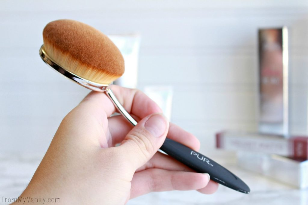 NEW from PUR Cosmetics | Hits and Misses? |Oval Foundation Brush