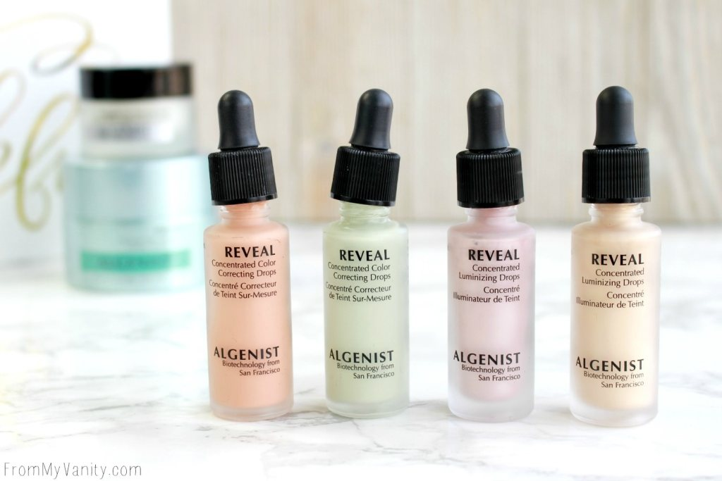 Algenist Reveal Concentrated Drops | The Secret to Natural Makeup?