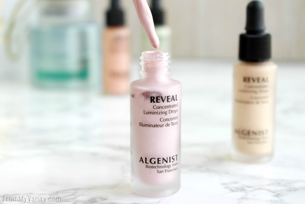 Algenist Reveal Concentrated Drops | The Secret to Natural Makeup? | Reveal Concentrated Illuminating Drops in Rose