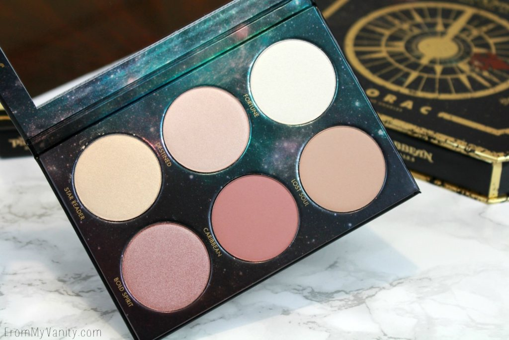 LORAC + Pirates of the Caribbean Collection   Review, Swatches, and Demo   Cheek Palette   Bronzer, Blush, & Highlighters