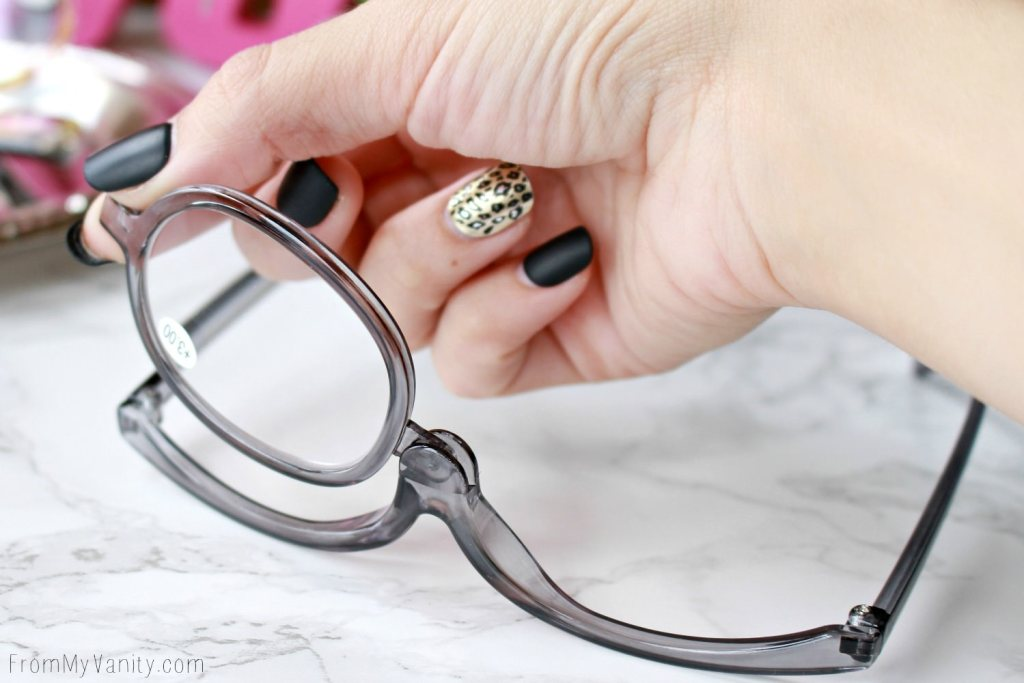 Makeup Readers| The Answer for People who Wear Glasses? | Just Flip to Whichever Side You Need While Applying Eye Makeup!
