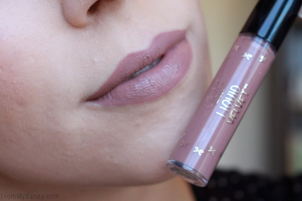 Sephora Favorites: Give Me Some Nude Lip | Lip Swatches, First Impressions | Ciate London Liquid Velvet | Lip Swatch