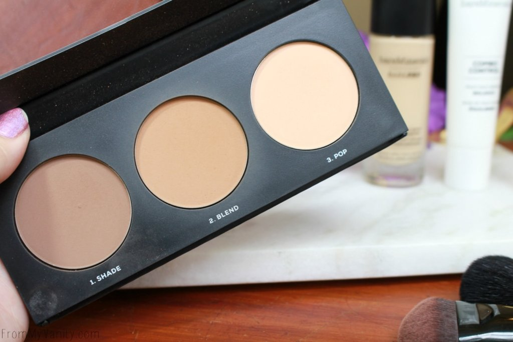 Bare Minerals barePro Performance Wear Collection | barePro Contour Palette | Shade, Blend, Pop