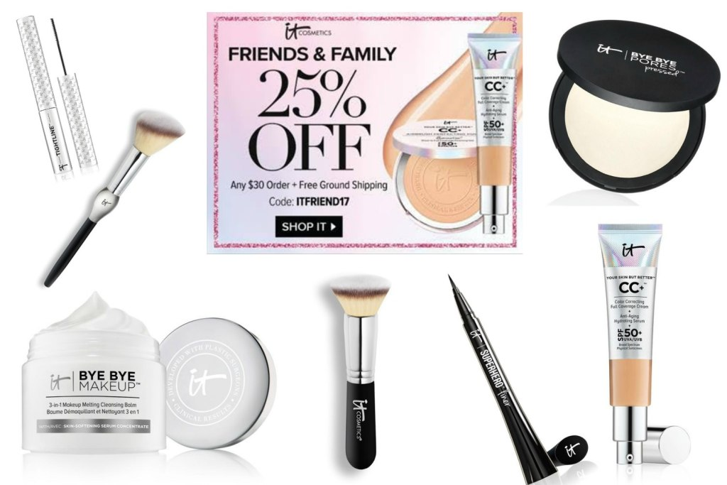 Top 10 IT Cosmetics Favorites & Recommendations   Annual Friends & Family Sale