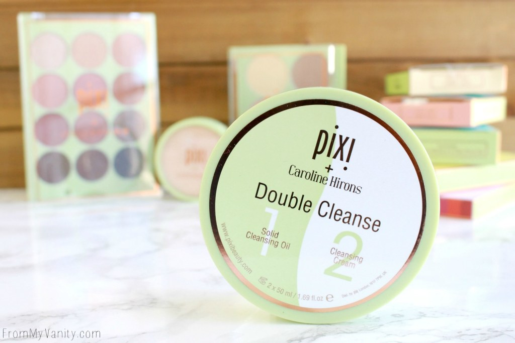 Pixi Collab Reviews | ItsJudyTime, Maryam Maquillage, Caroline Hirons, & Aspen Ovard | Caroline Hirons Double Cleanse