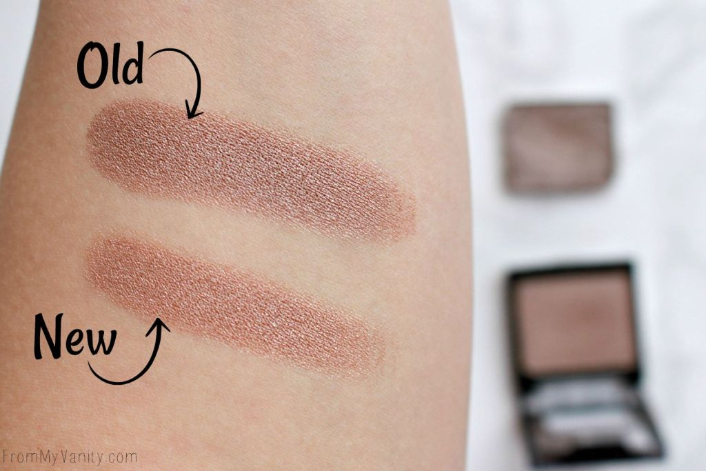 NEW Wet n Wild Color Icon Shadows | Reformulated! | Review & Swatches | Nutty | Old vs New Formula | Arm Swatches