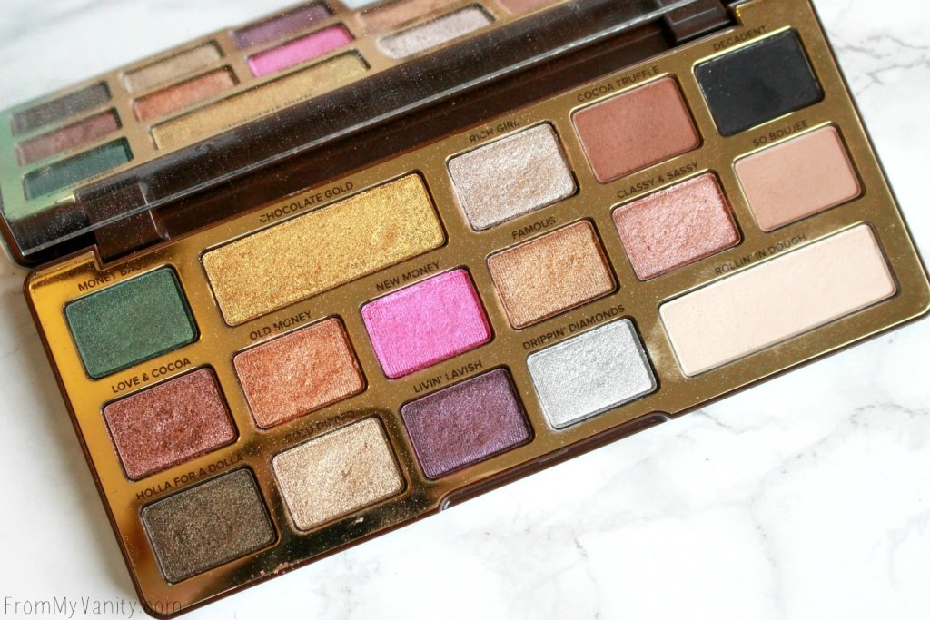 Too Faced Chocolate Gold Palette | Review & LIVE Eye Swatches