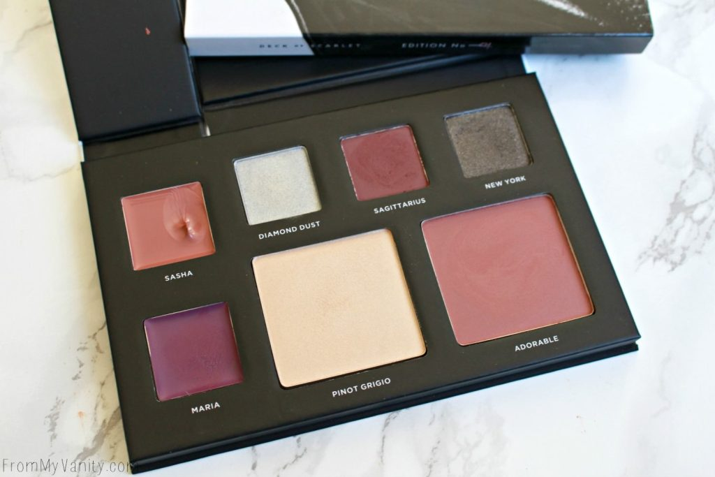 Deck of Scarlet | Review and Swatches | Edition Number 04 | Swatched palette