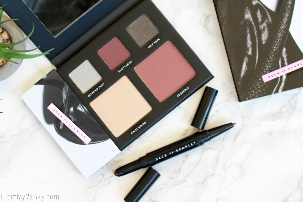 Deck of Scarlet - My Review on the Beauty Subscription Service for Palette Addicts!