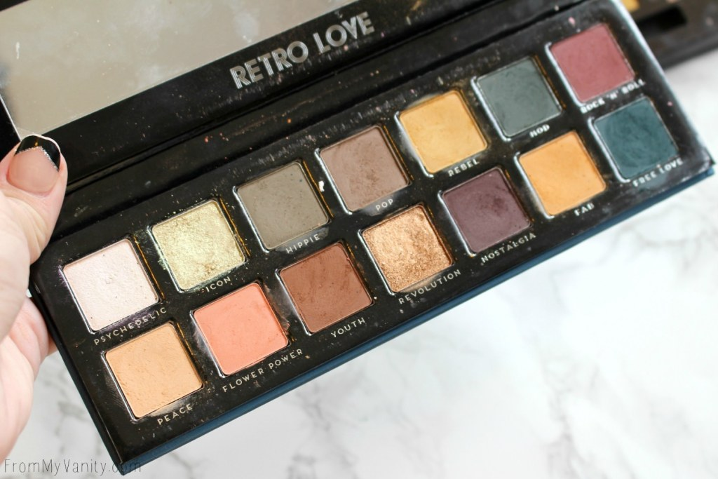 Dupe or Dud | ABH Subculture Palette vs Bad Habit Retro Love Palette | Eye Look Comparison! | Opened Bad Habit Retro Love Palette