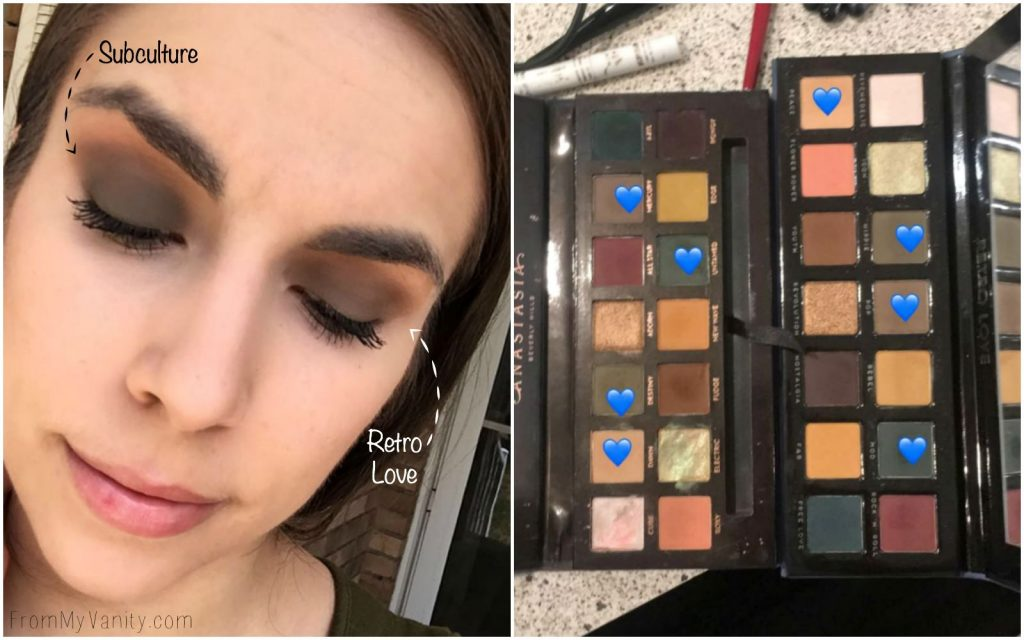 Dupe or Dud | ABH Subculture Palette vs Bad Habit Retro Love Palette | Anastasia Beverly Hills | Shop Hush | Eye Look Comparison