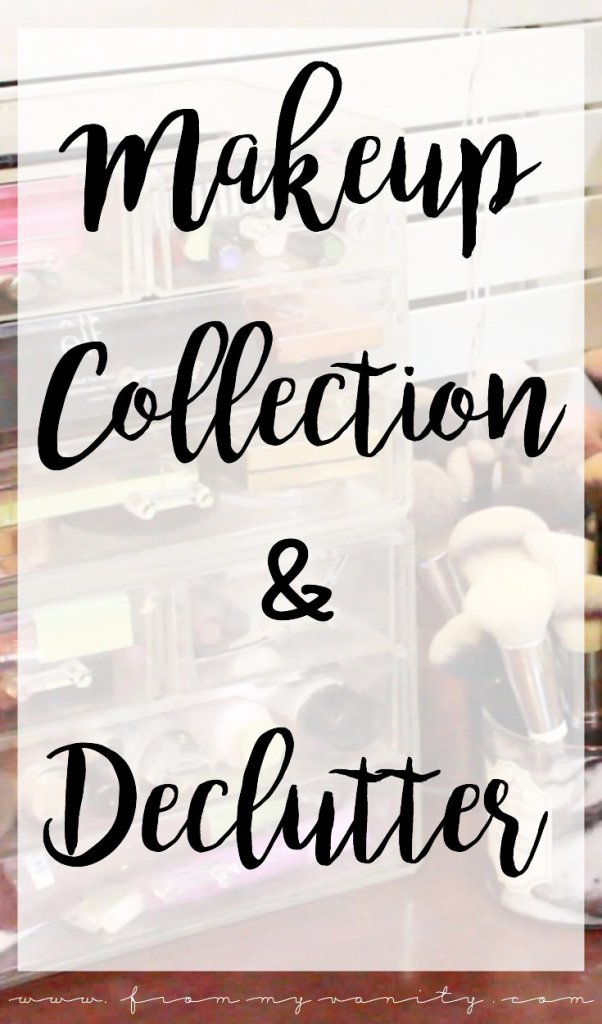 Massive Makeup Collection & Declutter | So much makeup! | Makeup Declutter