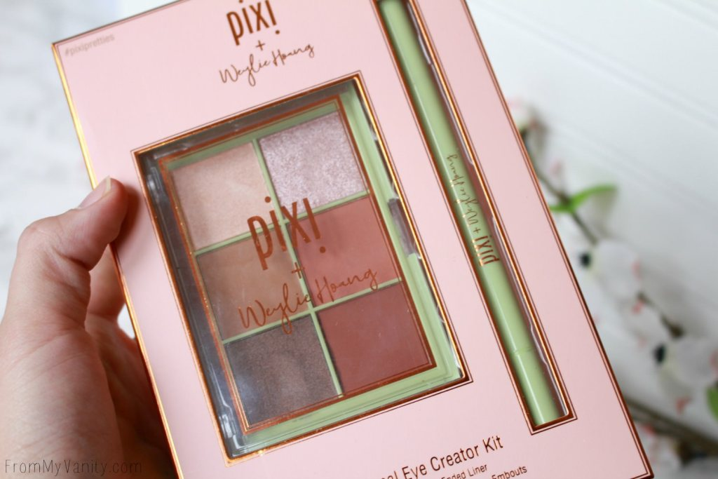 Pixi and Weylie Hoang Dimensional Eye Creator Kit | Packaging and Collection
