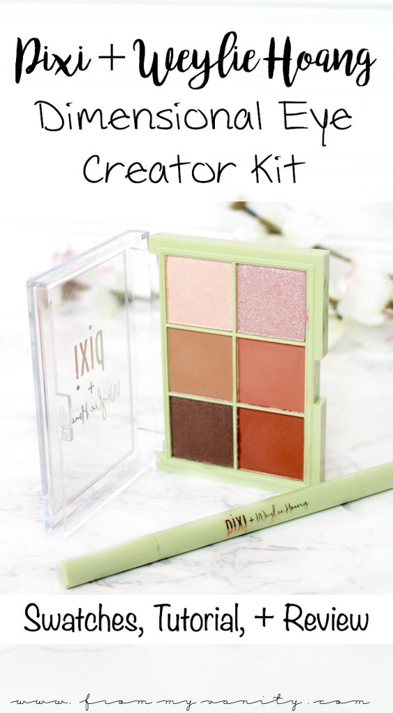 Pixi and Weylie Hoang Dimensional Eye Creator Kit   Review, Tutorial, and Eye + Arm Swatches   In Depth Review